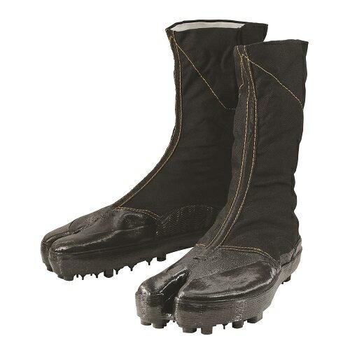 丸五 地下足袋/安全たび スパイク8枚(大馳) 2型(農作業靴) 黒 27.0cm