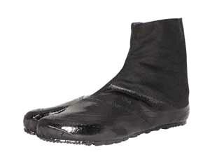 丸五 地下足袋 実用5枚(重作業向け貼付タイプ/糊高加工) 黒 24.5cm