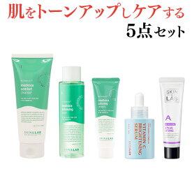 肌を鎮静・保湿するシカ成分配合の基本スキンケアと肌トーンアップの美容液、肌の悩み別に特化したビタミンクリームで肌を徹底的にケアするスキンケア5点セット(メディシカ3点セット+レッドセラム+ビタミンクリーム選択) 化粧水 乳液 洗顔料 クリーム トラブル肌 保湿