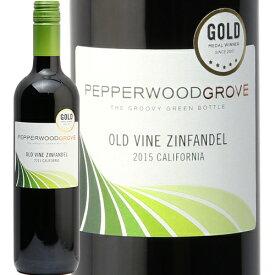 ペッパーウッド グローヴ オールド ヴァイン ジンファンデル Pepperwood Grove Old Vine Zinfandel 赤ワイン アメリカ カリフォルニア 樽香