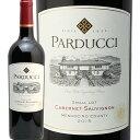 パラドゥッチ カベルネソーヴィニヨン 2015 PARDUCCI Cabernet Sauvignon 赤ワイン アメリカ カリフォルニア フルボディ 中川ワイン