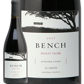 ベンチ ソノマ コースト ピノ ノワール 2017 BENCH Pinot Noir 赤ワイン アメリカ カリフォルニア 布袋ワインズ