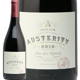 オーステリティ ワイン ピノ ノワール サンタ ルシア ハイランズ 2016 Austerity Wines Pinot Noir Santa Lucia Highlands 赤ワイン アメリカ カリフォルニア あす楽 即日出荷 モントレー