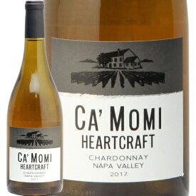 カモミ シャルドネ 2017 ナパ ヴァレー Ca'Momi Napa Valley Chardonnay 白ワイン アメリカ カリフォルニア やや辛口 即日出荷 新樽香 アイコニック