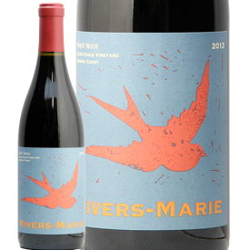 リヴァース マリー ピノノワール シルヴァー イーグル ヴィンヤード 2014 RIVERS-MARIE Pinot Noir Silver Eagle Vineyard Anderson Valley 赤ワイン アメリカ カリフォルニア ソノマ 中川ワイン シルバー
