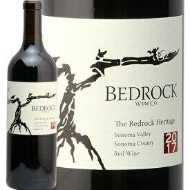 ベッドロック ザ ベッドロック ヘリテージ 2017 ソノマ ヴァレー レッド ワイン The Bedrock Heritage Sonoma Valley Red Wine 赤ワイン アメリカ カリフォルニア バレー 中川ワイン