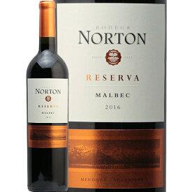 ボデガ ノートン マルベック レゼルヴァ 2018 BODEGA NORTON MALBEC RESERVA 赤ワイン アルゼンチン 日経 プラスワン フルボディ