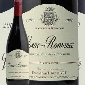 ヴォーヌロマネ 2009 エマニュエル ルジェ Vosne Romanee Emmanuel Rouget 赤ワイン フランス ブルゴーニュエマニエル