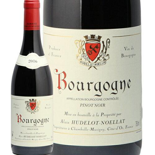 ブルゴーニュ ルージュ 2016 アラン ユドロ ノエラ Bourgogne Rouge Domaine Hudelot Noellat 赤ワイン フランス ブルゴーニュ 即日出荷 フィラディス