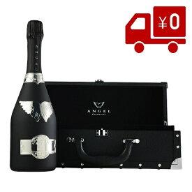 あす楽 エンジェル ブリュットブラック シャンパン 箱付き 正規品 エンジェルシャンパン送料無料 誕生日 バースデー ウェディング パーティー開店御祝 周年記念 結婚御祝い インスタ映え