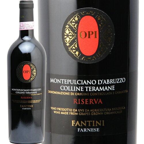 ファルネーゼ オピ モンテプルチアーノ ダブルッツオ コッリーネ テラマーネ リセルヴァ 2011 Opi Montepulciano d'Abruzzo Colline Teramane Riserva Farnese 赤ワイン イタリア 稲葉 即日出荷 フルボディ