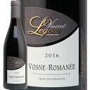 ヴォーヌ ロマネ 2016 ヴァンサン ルグー Vosne Romanee Vincent Legou 赤ワイン ブルゴーニュ ピノ ノワール ヌーベルセレクション フランス ミディアム DRC