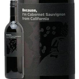 カリフォルニア カベルネ ソーヴィニヨン 2018 ビコーズ California Cabernet Sauvignon Because 赤ワイン フィラディス アメリカ フルボディ