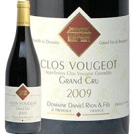クロ ド ヴージョ グラン クリュ 2009 ダニエル リオン Clos de Vougeot Grand Cru Daniel Rion 赤ワイン ブルゴーニュ 特級畑 蔵出し フィラディス