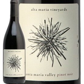 アルタ マリア ヴィンヤード ピノ ノワール 2012 Alta Maria Vinyard Pinot Noir 赤ワイン カリフォルニア サンタ マリア ヴァレー アイコニックワイン