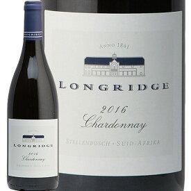 ロングリッジ シャルドネ 2017 Longridge Chardonnay 白ワイン 南アフリカ ステレンボッシュ マスダ やや辛口