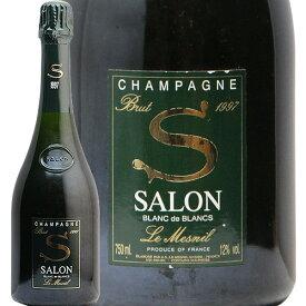 【2万円以上で送料無料】サロン ブラン ド ブラン 1997 Salon Millesime Blanc de Blancs フランス シャルドネ フィラディス