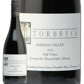 トルブレック ジー エム エス 2015 TORBREC GMS 赤ワイン オーストラリア フルボディ ミレジム Grenache Mourvedre Shiraz