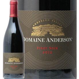 ドメーヌ アンダーソン ピノノワール 2012 DOMAINE ANDERSON Pinot Noir 赤ワイン アメリカ カリフォルニア ルイ ロデレール 辛口