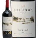 シャノン メルロー 2015 Shannon Merlot 赤ワイン 南アフリカ エルギン フルボディ スマイル
