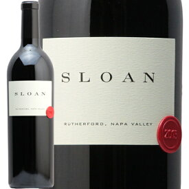 スローン エステート プロプライエタリー レッド ワイン 2015 Sloan Estate Proprietary Red Wine Napa Valley 赤ワイン アメリカ カリフォルニア ナパ ヴァレー ラザフォード パーカーポイント 100点 中川ワイン