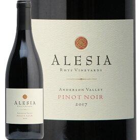 アリージア ピノ ノワール アンダーソン ヴァレー リース ヴィンヤーズ 2017 Alesia Pinot Noir Anderson Valley by Rhys Vineyards 赤ワイン アメリカ カリフォルニア 中川ワイン