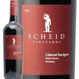 シャイド ヴィンヤーズ カベルネ ソーヴィニヨン 2016 Scheid Vineyards Cabernet Sauvignon 赤ワイン アメリカ カリフォルニア モントレー オルカ インターナショナル フルボディ