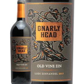 【2万円以上で送料無料】ナーリー ヘッド オールド ヴァイン ジンファンデル 2019 Gnarly Head Old Vine Zinfandel 赤ワイン アメリカ カリフォルニア モトックス フルボディ