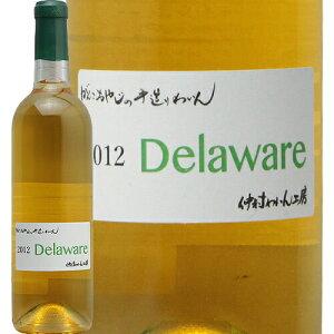 デラウェア 2012 仲村わいん工房 Delaware Nakamura Wine Factory 白ワイン 日本 大阪 羽曳野市 熟成