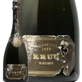 クリュッグ ミレジメ 1979 Krug Millesime シャンパン スパークリング フランス シャンパーニュ 古酒 貴重 フィラディス
