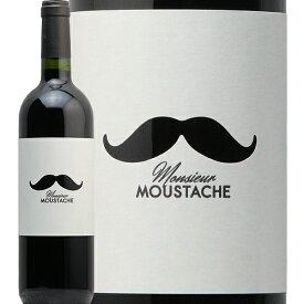 ムッシュ ムスタッシュ ルージュ 2018 Monsieur Moustachet Rouge 赤ワイン フランス ボルドー ファルゲレット レグリース アンフィニー