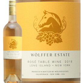 ウォルファー エステート ロゼ 2018 Wolffer Estate Rose ロゼワイン アメリカ ニューヨーク ロングアイランド 辛口 GO TO WINE