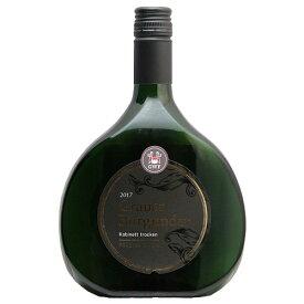 GWフランケン グラウブルグンダー カビネット トロッケン 2017 GW Franken Grauburgunder Kabinett Trocken 白ワイン ドイツ フランケン 辛口 ボックスボイテル 重松貿易