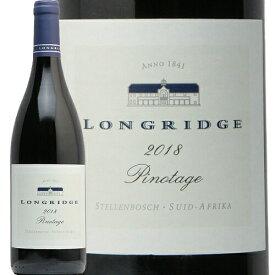 ロングリッジ ピノタージュ 2018 Longridge Pinotage 赤ワイン 南アフリカ ステレンボッシュ マスダ