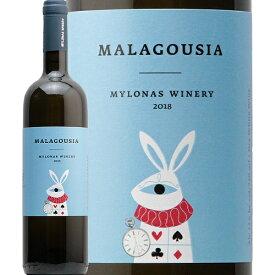ミロナス ワイナリー マラグジア 2019 Mylonas Winery Malagousia 白ワイン ギリシャ アッティカ マラグジア アズマ やや辛口