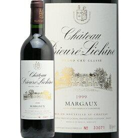シャトー プリューレ リシーヌ 1999 Chateau Prieure Lichine 赤ワイン フランス ボルドー マルゴー JIS