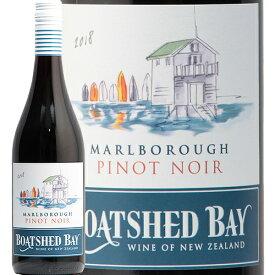ボートシェッド ベイ マールボロ ピノ ノワール 2018 Boatshed Bay Marlborough Pinot Noir 赤ワイン ニュージーランド マルボロ マスター オブ ワイン 辛口 モトックス