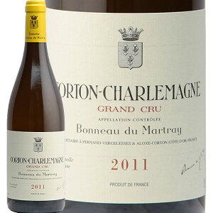 コルトン シャルルマーニュ 2011 ボノー デュ マルトレイ Corton Charlemagne Grand Cru Domaine Bonneau du Martray 白ワイン フランス ブルゴーニュ シャルドネ グランクリュ 辛口 フィラディス 特級 グラン