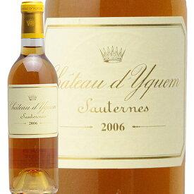 シャトー ディケム ハーフ 2006 Chateau d'Yquem Half 白ワイン 貴腐ワイン フランス ボルドー ソーテルヌ 第1特別級 イケム 375ml JIS
