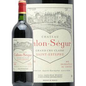 シャトー カロン セギュール 1995 Chateau Calon Segur 赤ワイン フランス ボルドー サン テステフ 3級 ハートラベル JIS