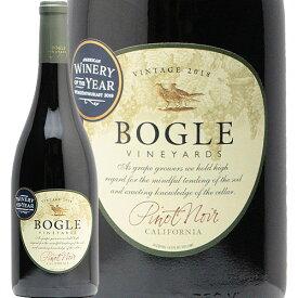 【2万円以上で送料無料】ボーグル ヴィンヤーズ ピノノワール 2018 Bogle Vineyards Pinot Noir 赤ワイン アメリカ カリフォルニア 辛口 オルカインターナショナル