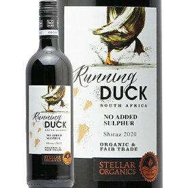 ステラー ランニング ダック シラーズ 2020 Stellar Running Duck Shiraz 赤ワイン 南アフリカ 西ケープ州