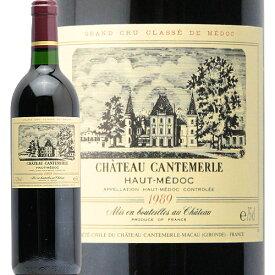 シャトー カントメルル 1989 Chateau Cantemerle 赤ワイン フランス ボルドー オー メドック