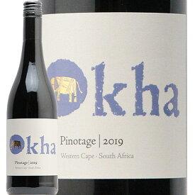 【2万円以上で送料無料】オーカ ピノタージュ 2019 Okha Pinotage 赤ワイン 南アフリカ サクラアワード ゴールド あす楽 即日出荷 モトックス