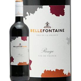 【2万円以上で送料無料】ベルフォンテーヌ 赤 Bellefontaine Pays d'Oc Rouge 赤ワイン フランス ラングドックルーション 肉料理 モトックス