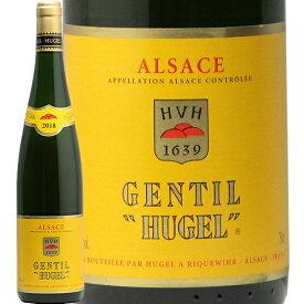 ジョンティ ヒューゲル 2018 ファミーユ ヒューゲル Famille Hugel Gentil HUGEL 白ワイン フランス アルザス やや辛口 ジェロボーム