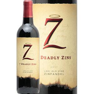 【2万円以上で送料無料】セブン デッドリー ジンズ オールド ヴァイン ジンファンデル 2017 7 Deadly Zins Old Vine Zinfandel 赤ワイン アメリカ フルボディ 樽香 マイケル デイビッド