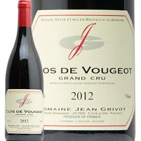 【2万円以上で送料無料】クロ ド ヴージョ グラン クリュ 2012 ジャン グリヴォ Clos de Vougeot Grand Cru Jean Grivot 赤ワイン フランス ブルゴーニュ