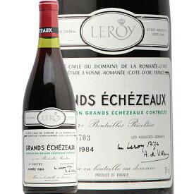 【2万円以上で送料無料】グラン エシェゾー グラン クリュ 1984 DRC Grands Echezeaux Grand Cru Domaine de la Romanee Conti 赤ワイン フランス ブルゴーニュ ドメーヌ ド ラ ロマネ コンティ