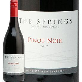 ザ スプリングス ピノ ノワール 2018 The Springs Pinot Noir 赤ワイン ニュージーランド ワイパラ 飲みやすい エレガント 即日出荷 モトックス